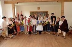 300 Let založení obce - Slavnostní otevření OÚ